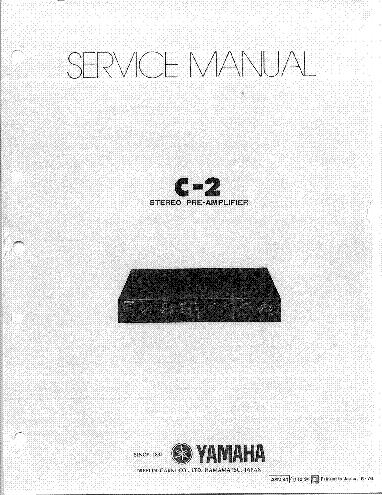 YAMAHA CRX-040 CRX-140 NS-BP80 MCR-040 MCR-140 Service