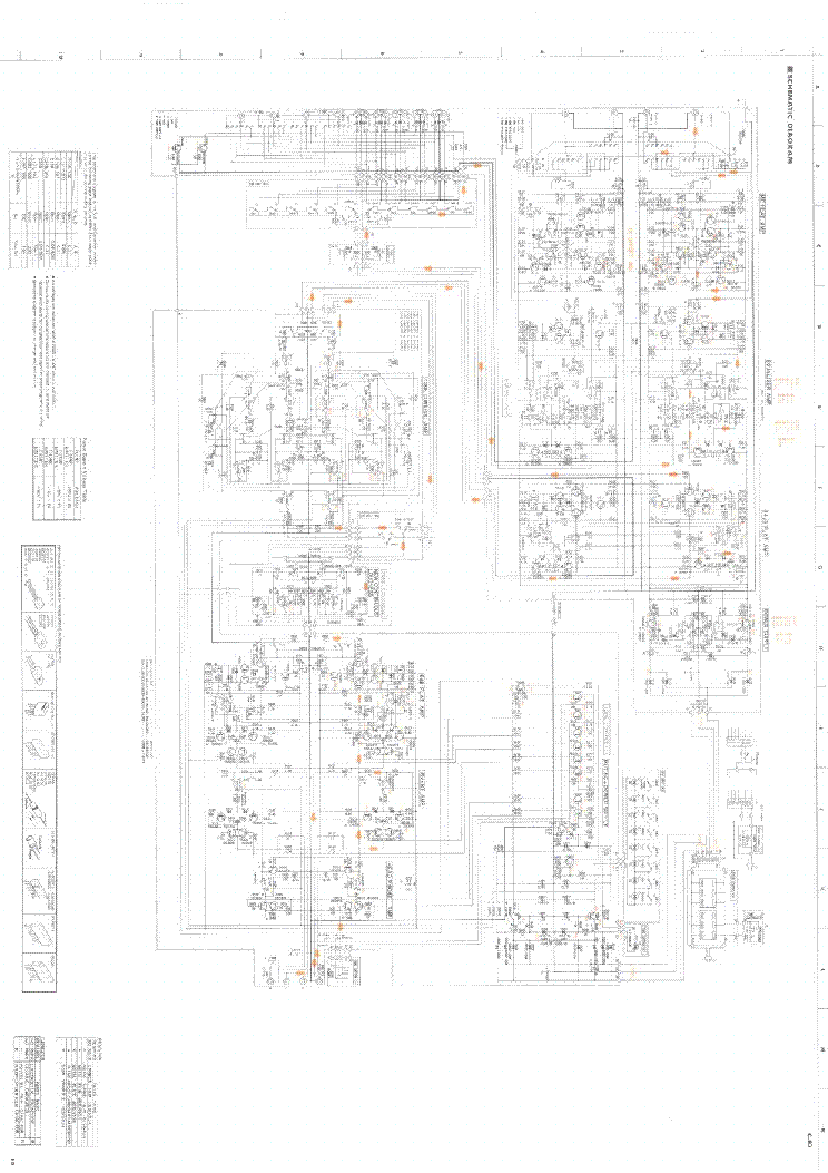 YAMAHA B100-115 Service Manual free download, schematics