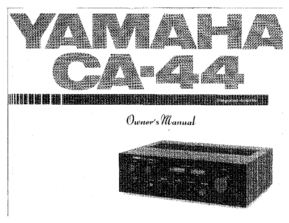 YAMAHA AX-1090 Service Manual free download, schematics