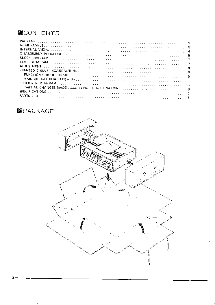 YAMAHA CA-510 CA-410II V2 Service Manual download