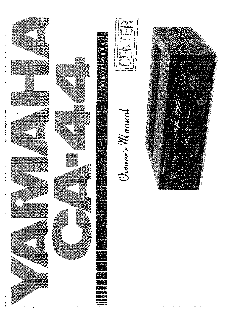 YAMAHA AX-1070 Service Manual free download, schematics