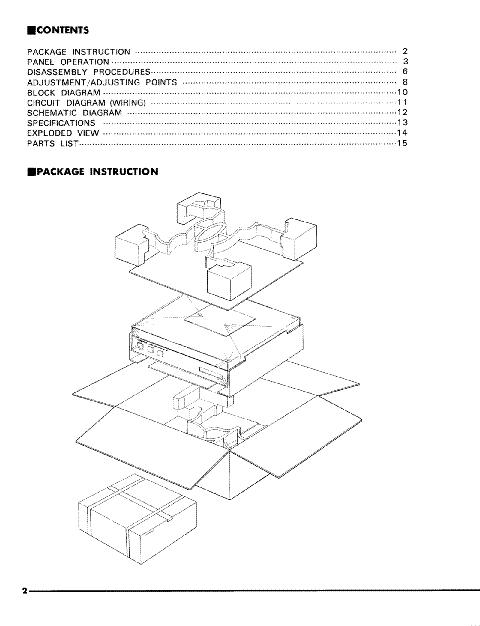 YAMAHA M-4 Service Manual download, schematics, eeprom