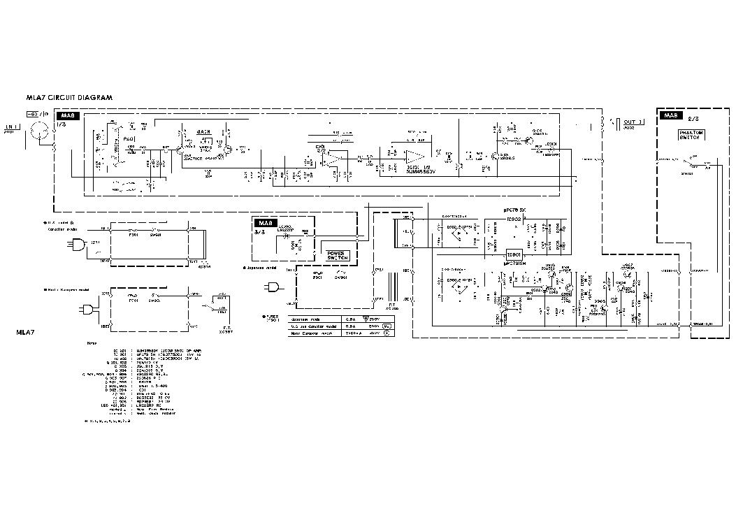 Yamaha Mla7 Sch Service Manual Download Schematics