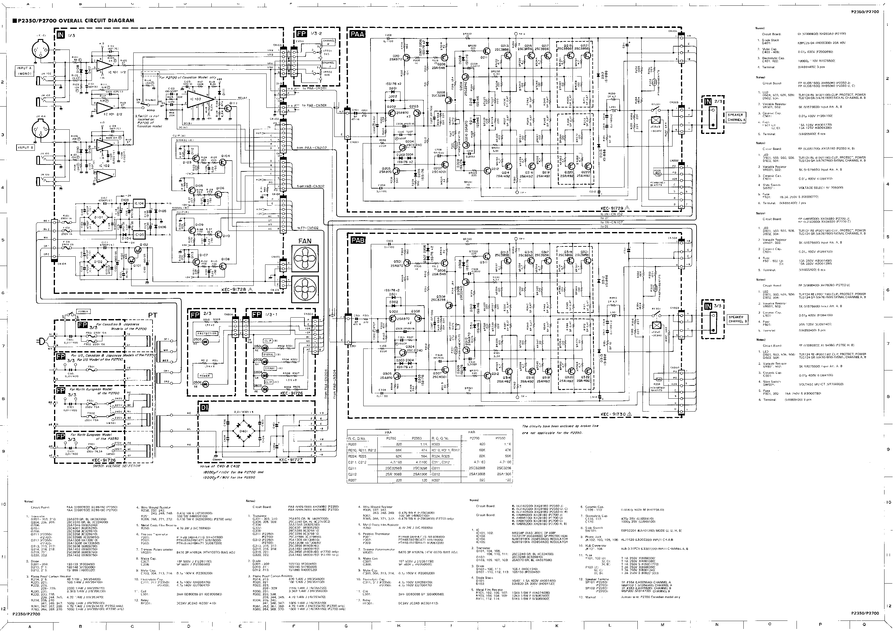 YAMAHA CDR-D651 Service Manual download, schematics