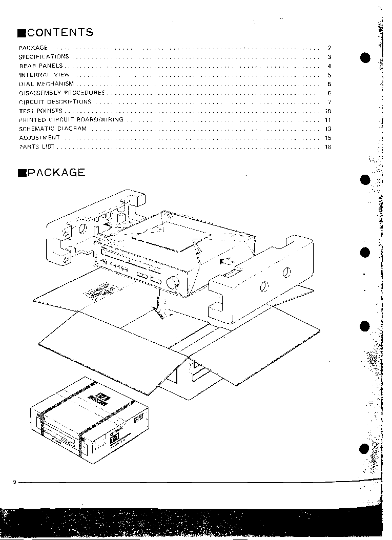 YAMAHA T-1 TUNER Service Manual download, schematics