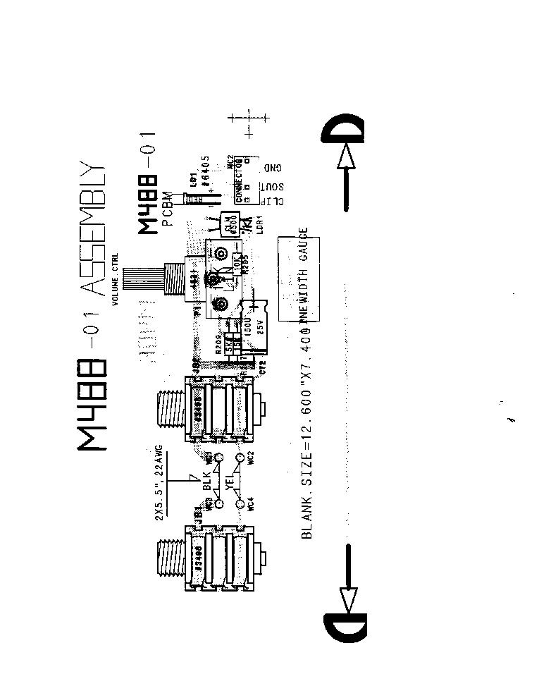 YORKVILLE BETA500 Service Manual download, schematics