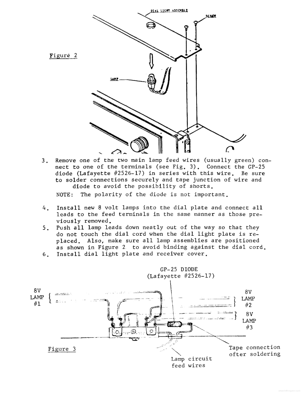 medium resolution of lafayette lr 1515a 2020a 3030a 5555a technical info service manual 2nd page