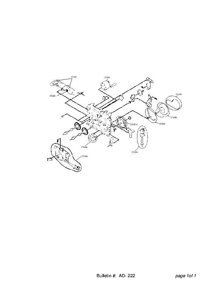 SHARP AD-222 CD-80W BK1600V BK1800V BK190V BK2000 BK2100V
