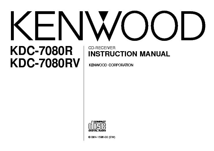 KENWOOD KRF-V4550D MANUAL Service Manual download