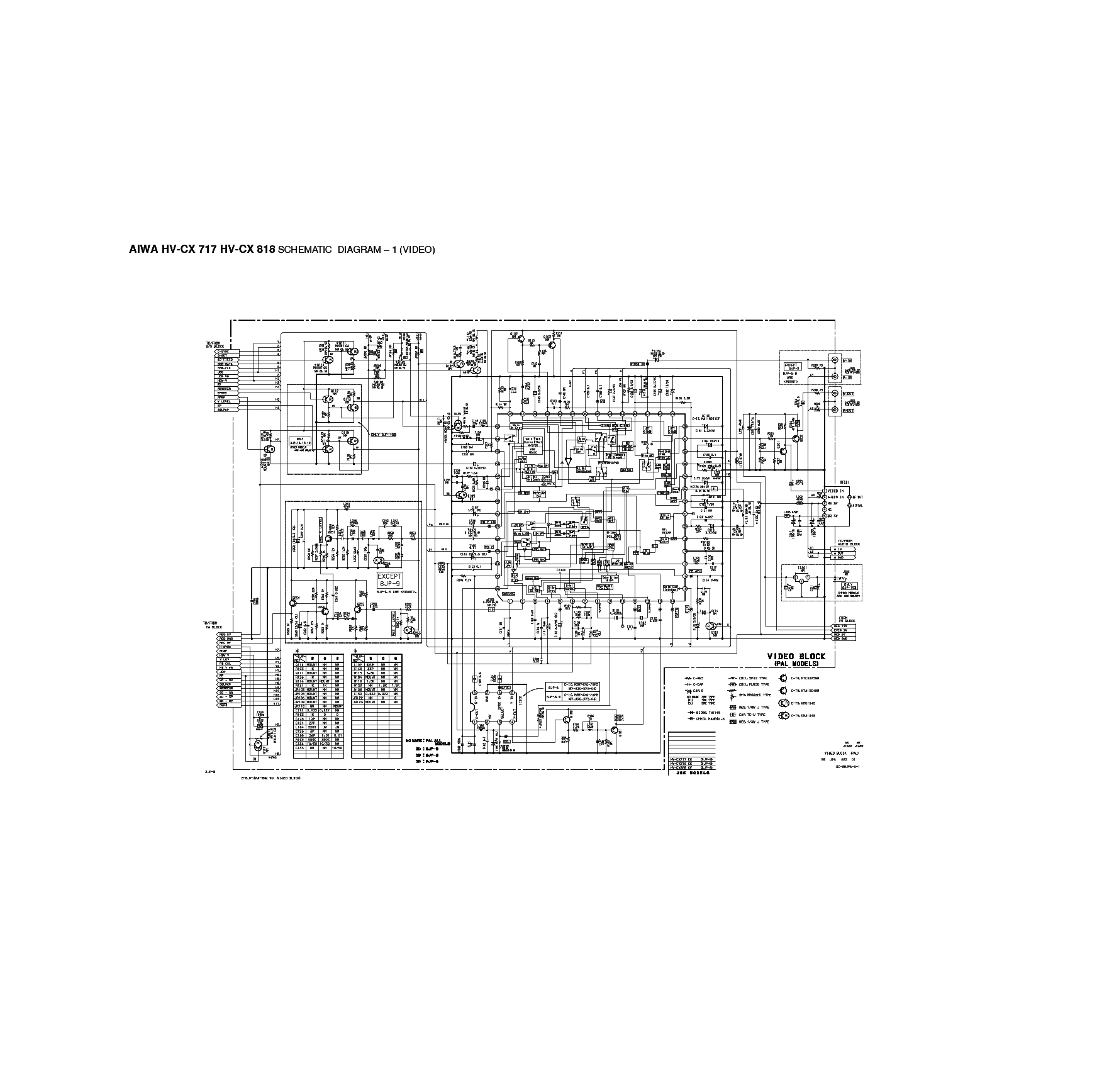 AIWA XD-DV370 Service Manual download, schematics, eeprom