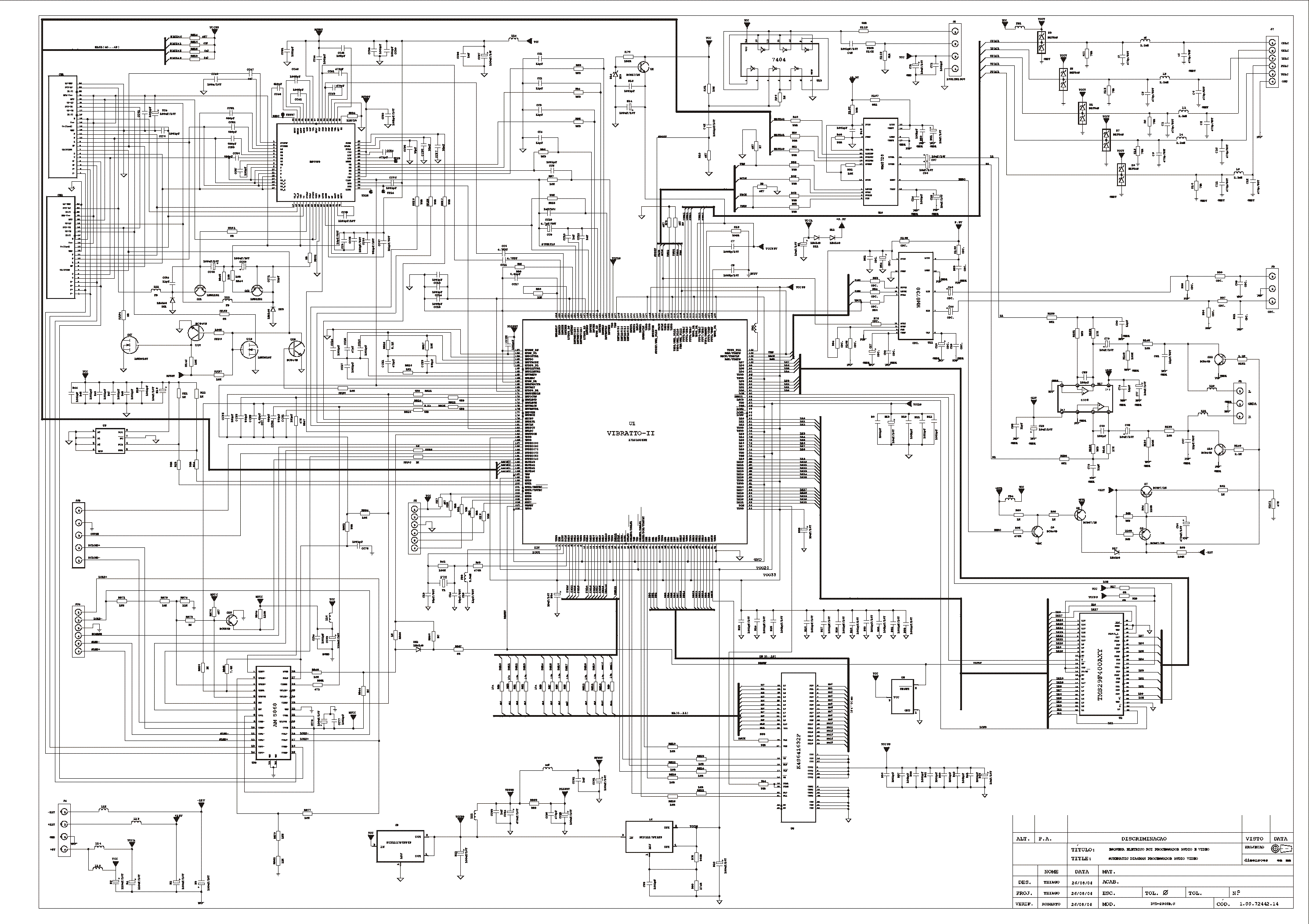 CCE 4180-VIPER22A Service Manual download, schematics