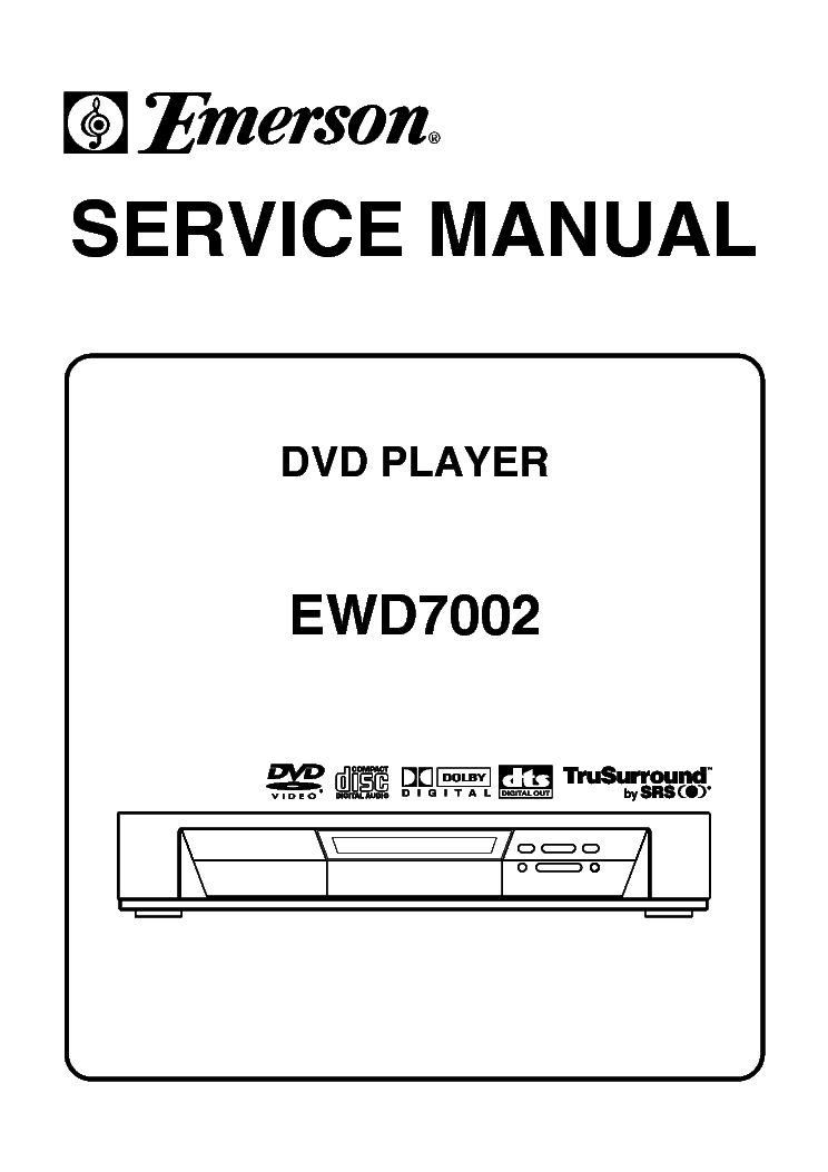 EMERSON EWD2204 Service Manual download, schematics