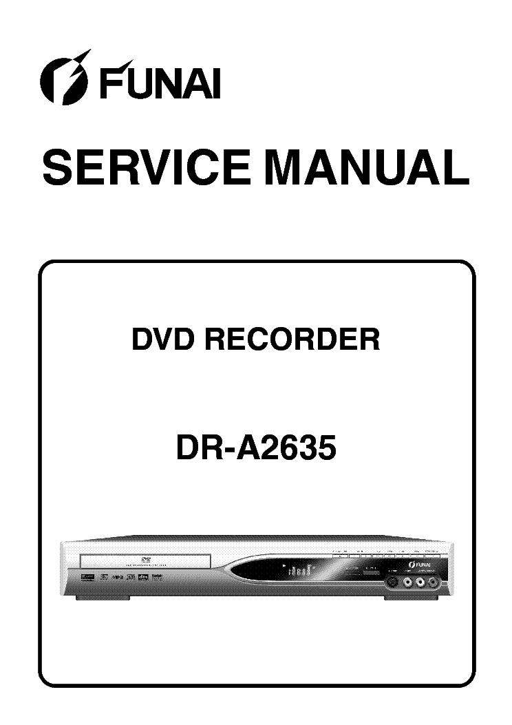 FUNAI DR-A2635 SM Service Manual download, schematics