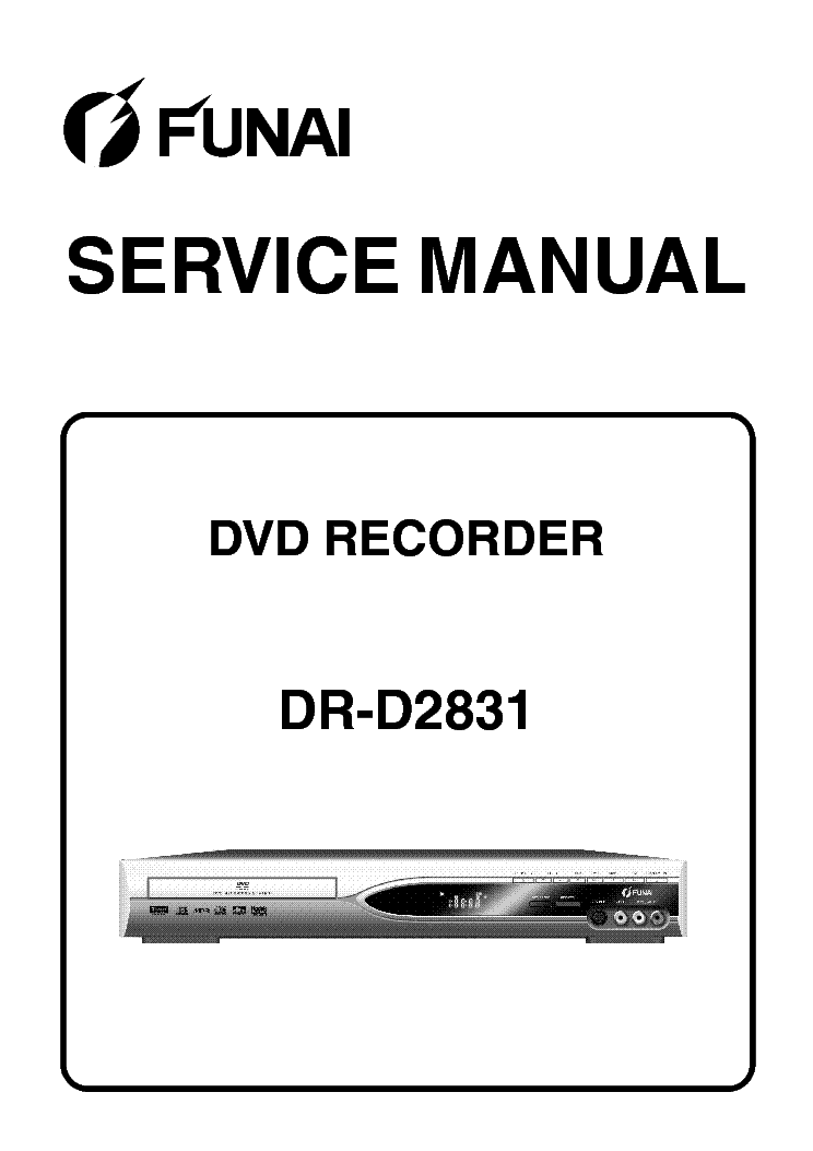 FUNAI COMBI-DBVR-6730 H9901BD Service Manual download