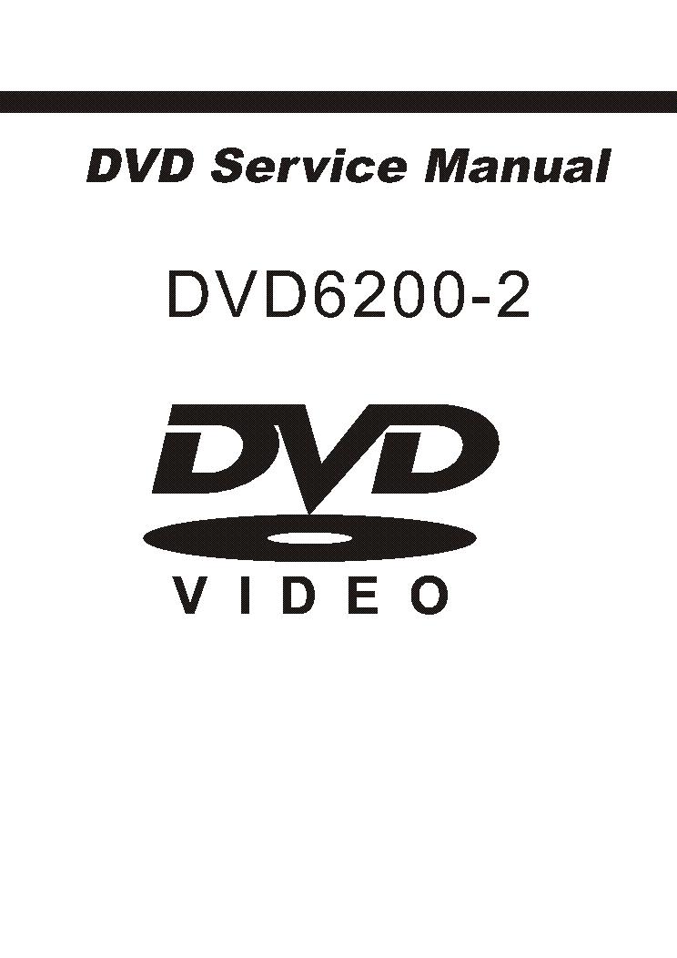 HAIER DVD6200-2 SM Service Manual download, schematics