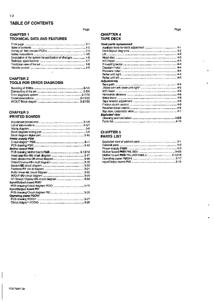 HITACHI M500 SERIES Service Manual download, schematics