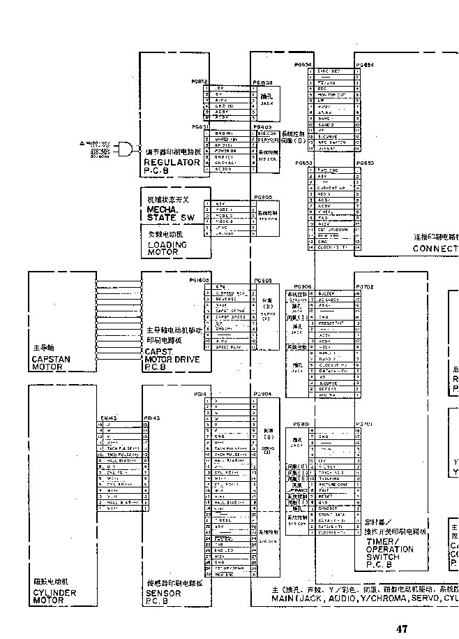 HITACHI VT-FX6180EM FX868E MX808E MX818E MX828E MX848E