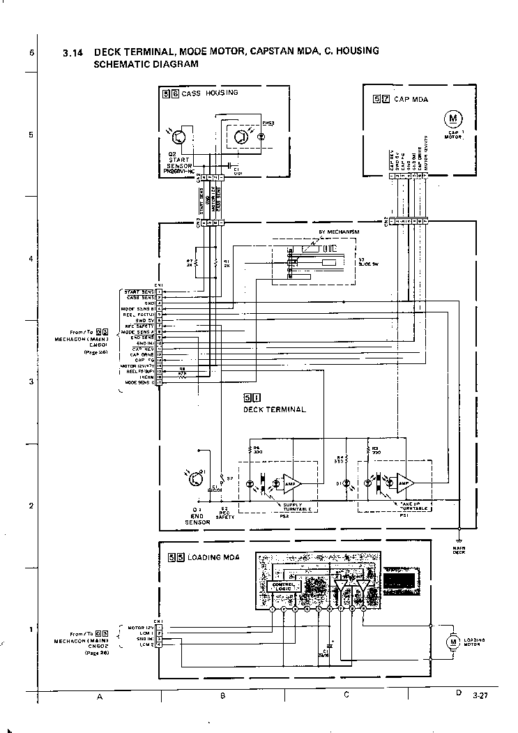JVC HR-D540 SCH 1 Service Manual download, schematics
