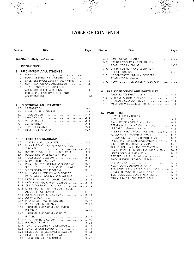 JVC HR-D750EK FULL SM Service Manual download, schematics