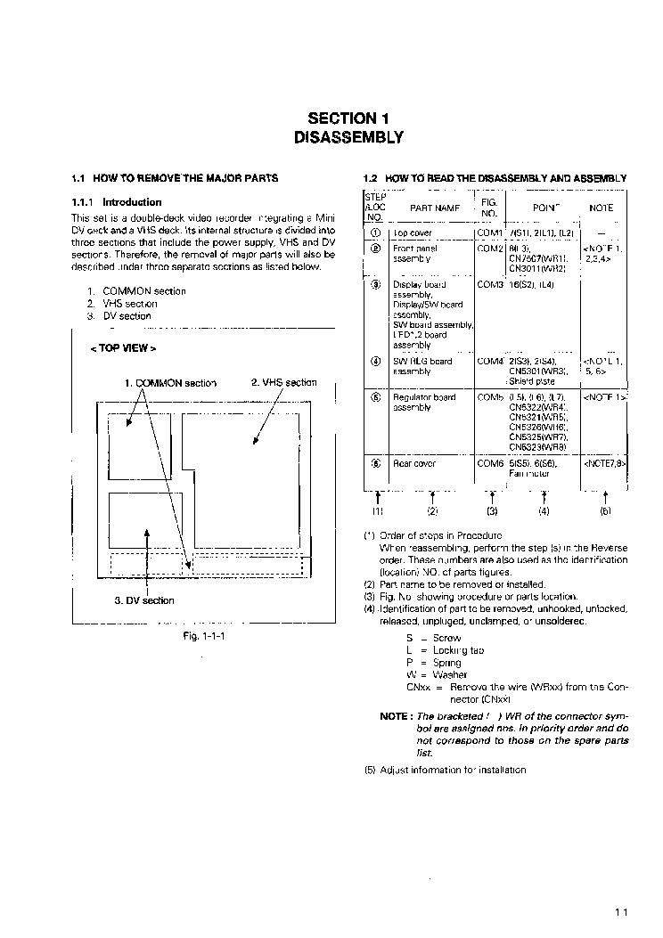 JVC HR-DVS1EU Service Manual download, schematics, eeprom