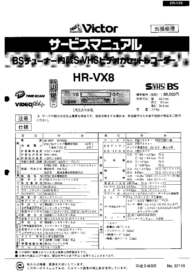 JVC HM-HDS1 Service Manual free download, schematics