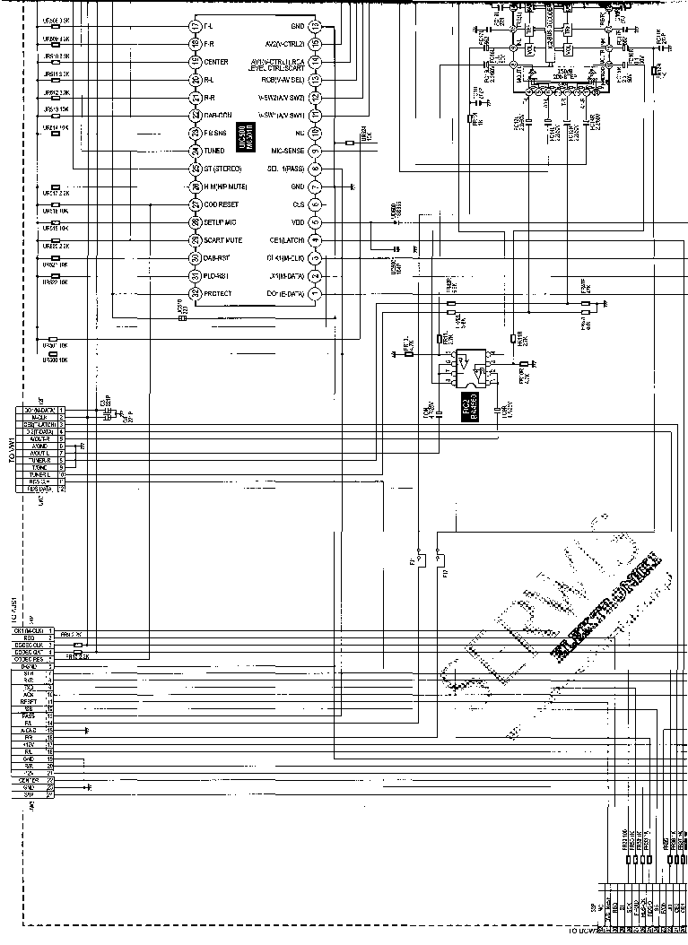 JVC TH-A25 SCH Service Manual download, schematics, eeprom