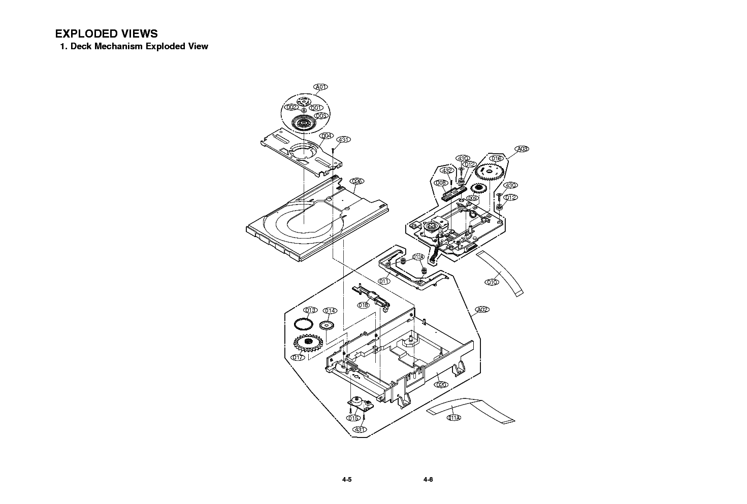LG DVD 6812 EXPLODED VIEW Service Manual download
