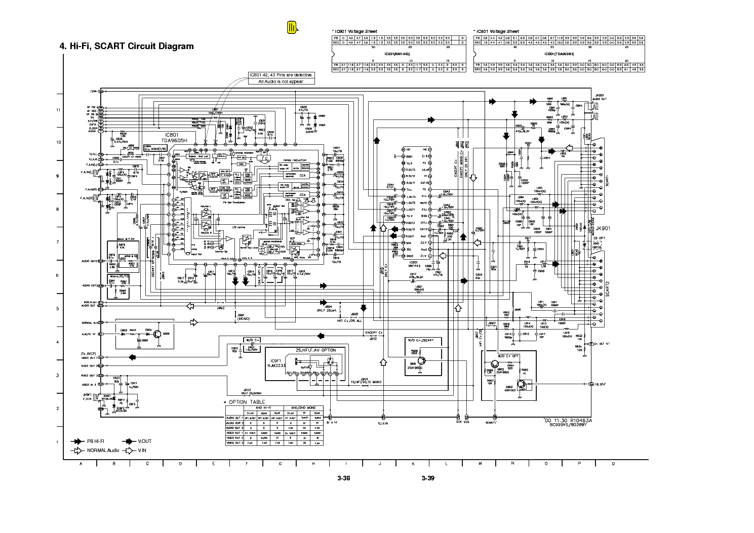 LG LV-270 Service Manual download, schematics, eeprom
