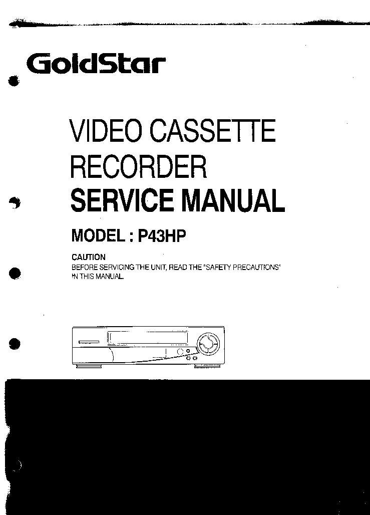 LG P43HP SM Service Manual download, schematics, eeprom