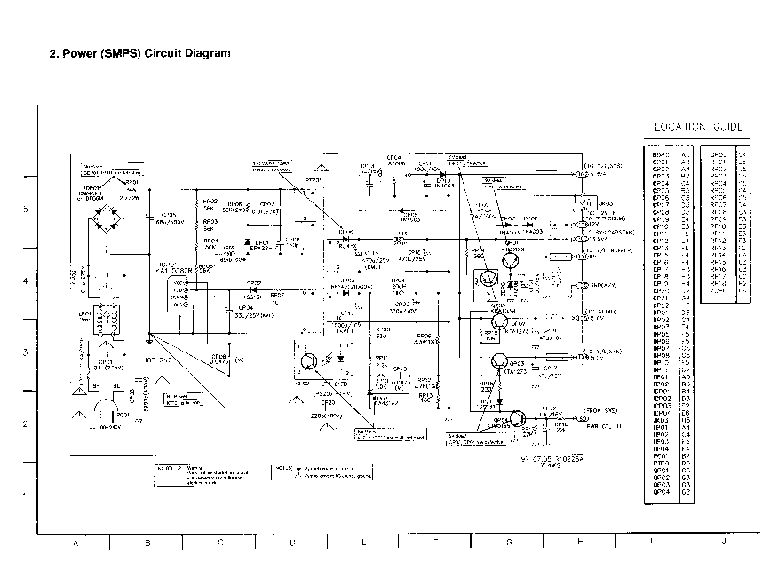 LG DA-5620 Service Manual download, schematics, eeprom