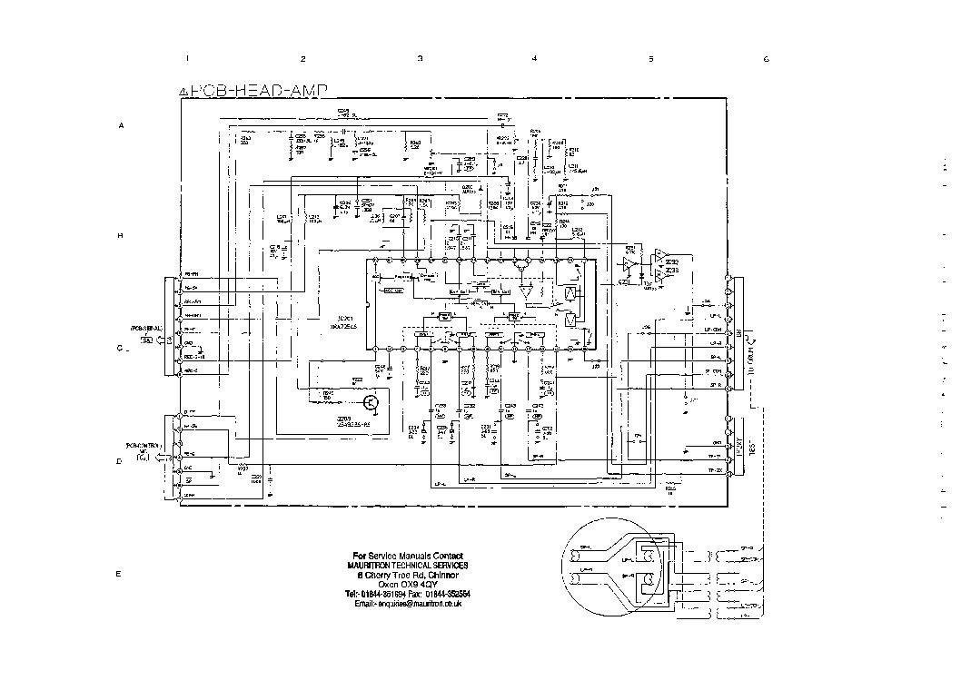 MITSUBISHI HS-B27 HS-B32 SM Service Manual download