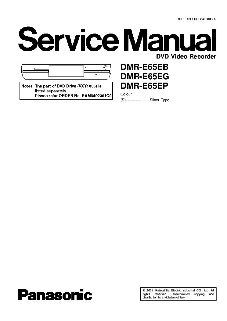 PANASONIC SA-HT900 Service Manual free download