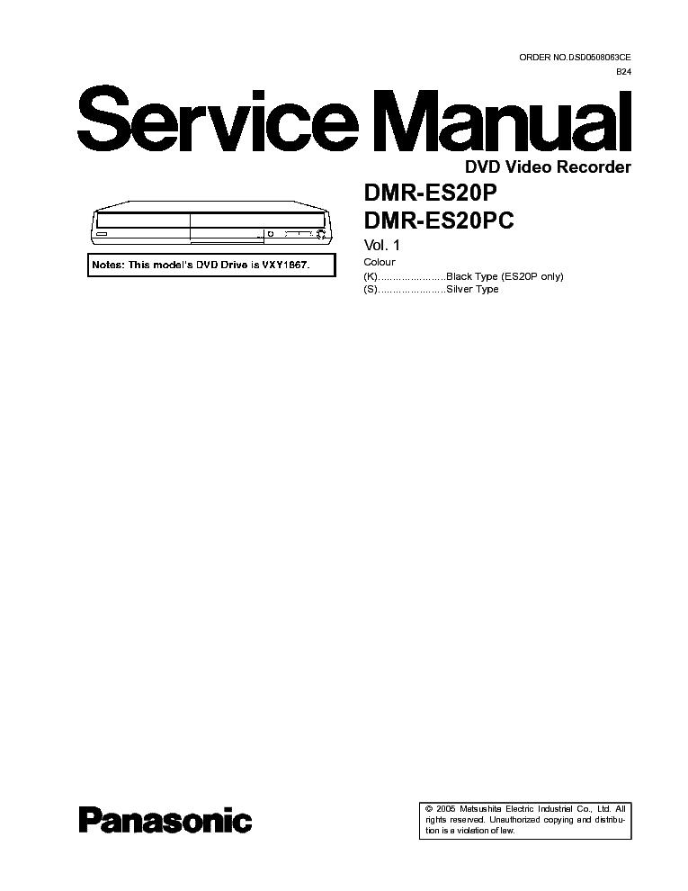 PANASONIC NV-HD680 SM Service Manual download, schematics, eeprom, repair info for electronics