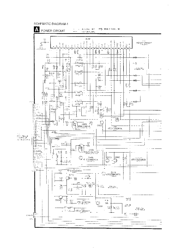 PANASONIC SA-HT520 SCH Service Manual download, schematics