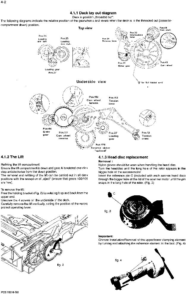 PHILIPS TURBO-DRIVE MECHANIC Service Manual download