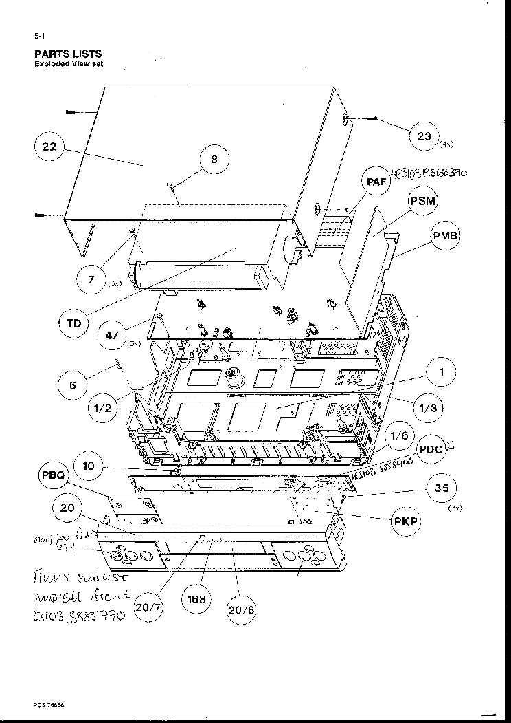 PHILIPS HTS6500 Service Manual download, schematics