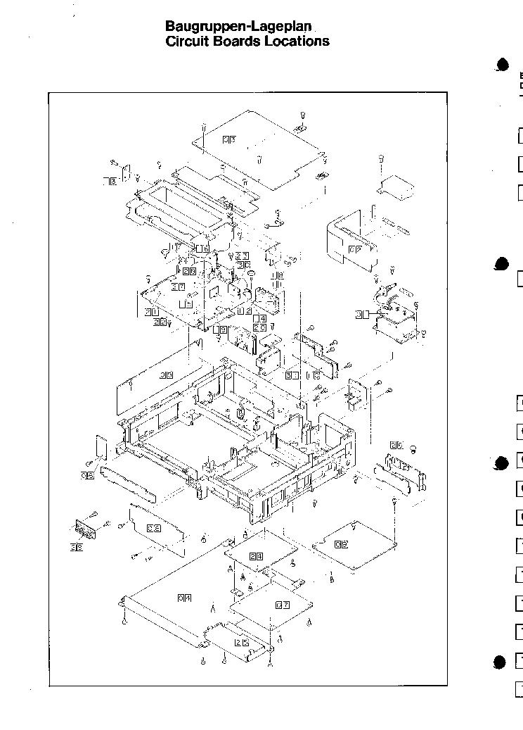SABA VR-6038-HIFI-E SM Service Manual download, schematics