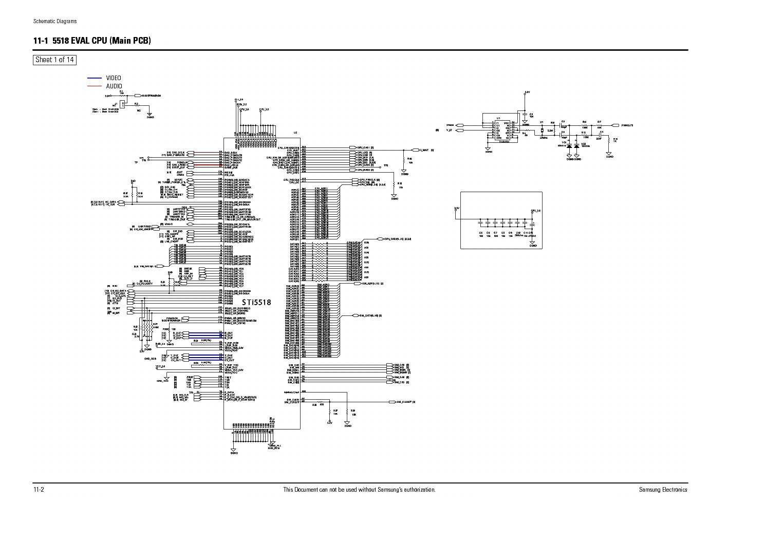 SAMSUNG DSB-B350W Service Manual download, schematics