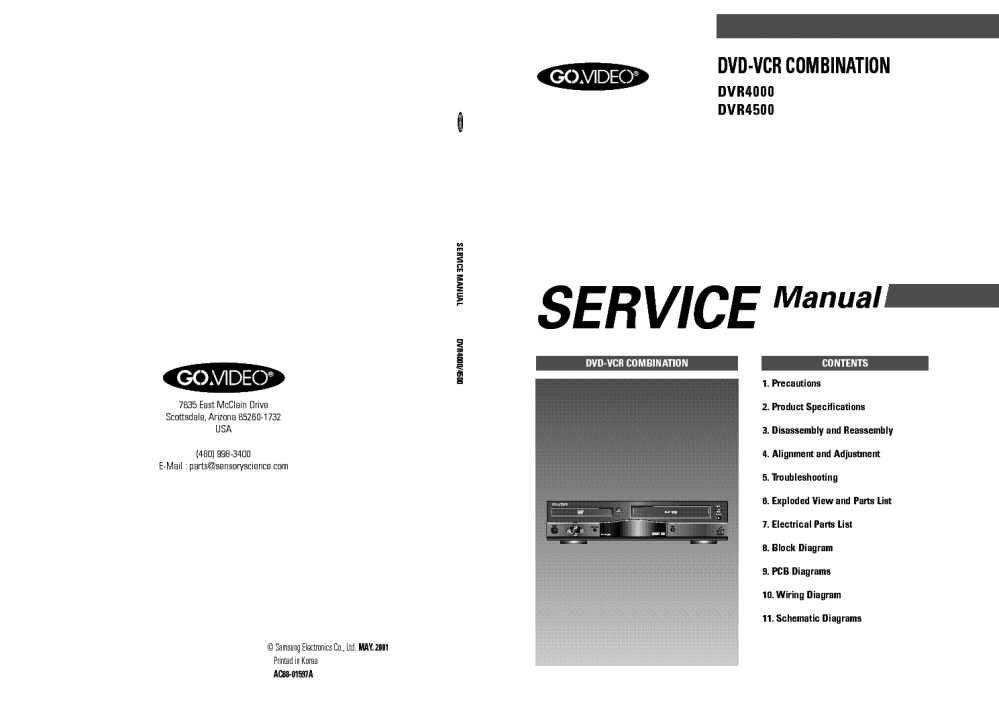 medium resolution of samsung dvr 4000 service manual 1st page