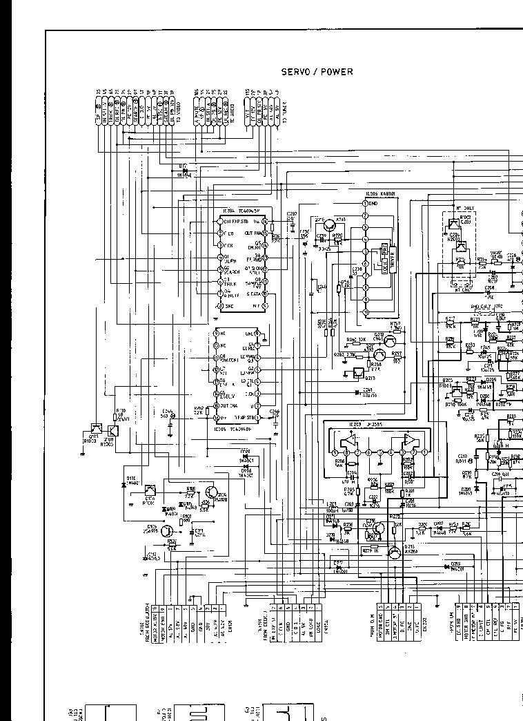 SAMSUNG VK-1260 Service Manual free download, schematics