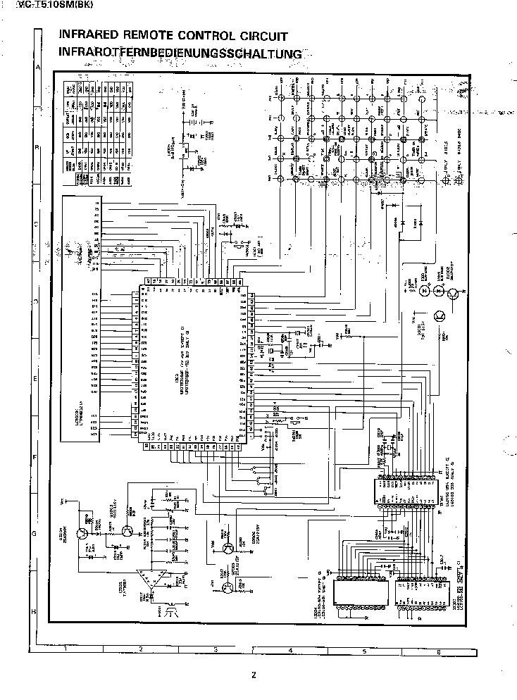 SHARP VC-T510SM Service Manual download, schematics