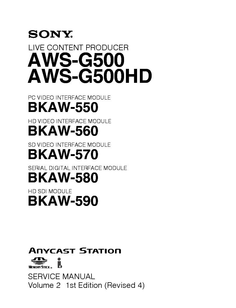 AWS-G500 MANUAL PDF