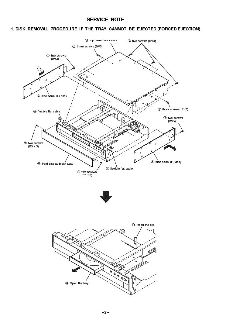 SONY BDP-S2000ES VER1.0 Service Manual download