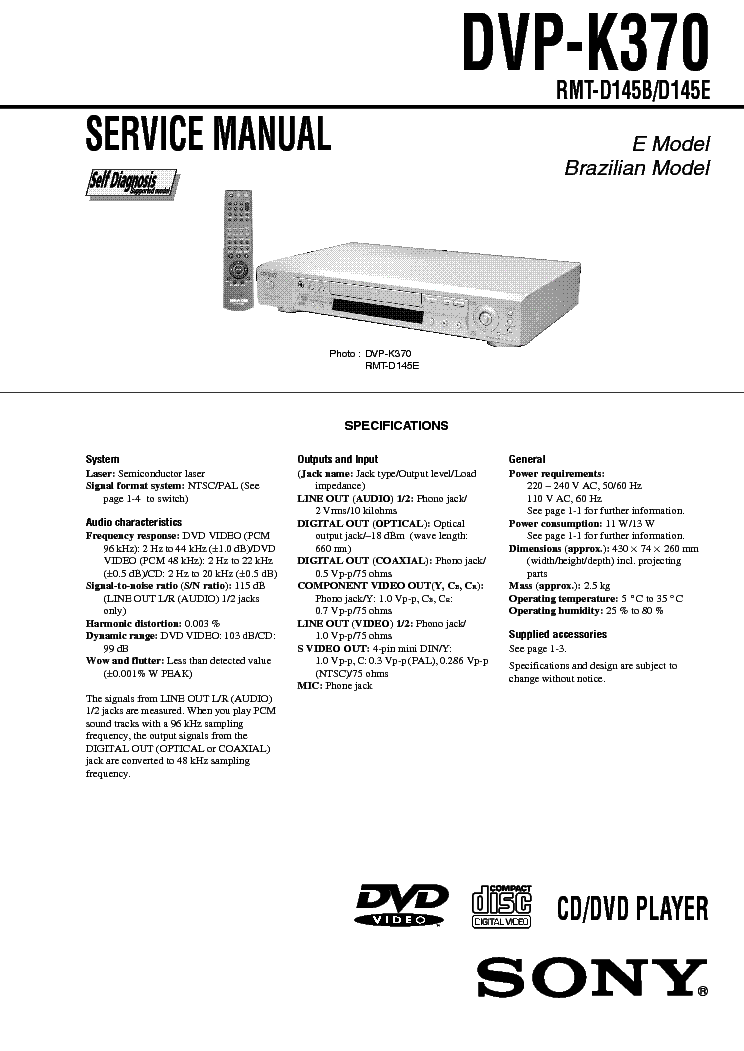 SONY HCD-FX900W SM Service Manual free download