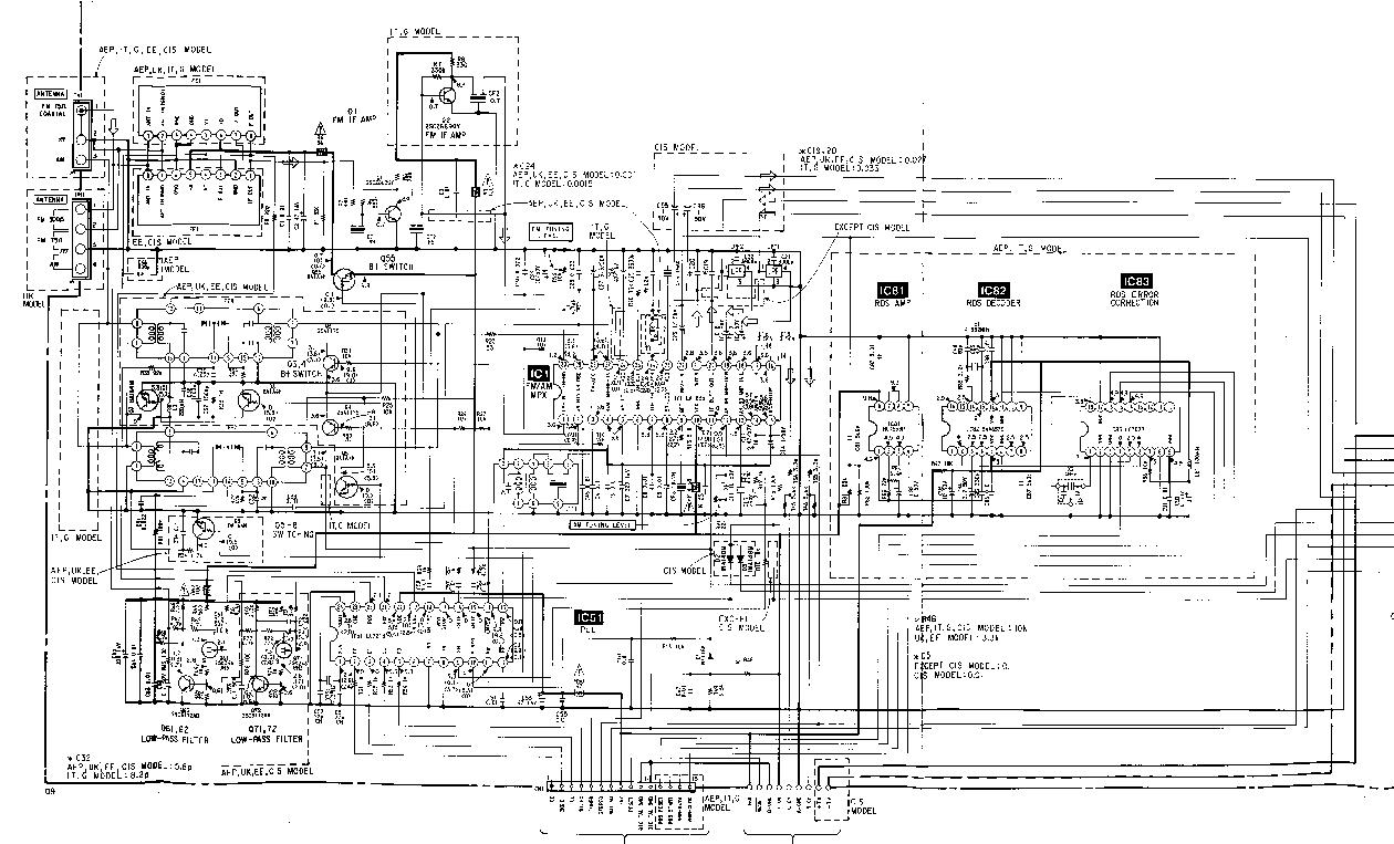 SONY HCD-A490 SCH Service Manual download, schematics