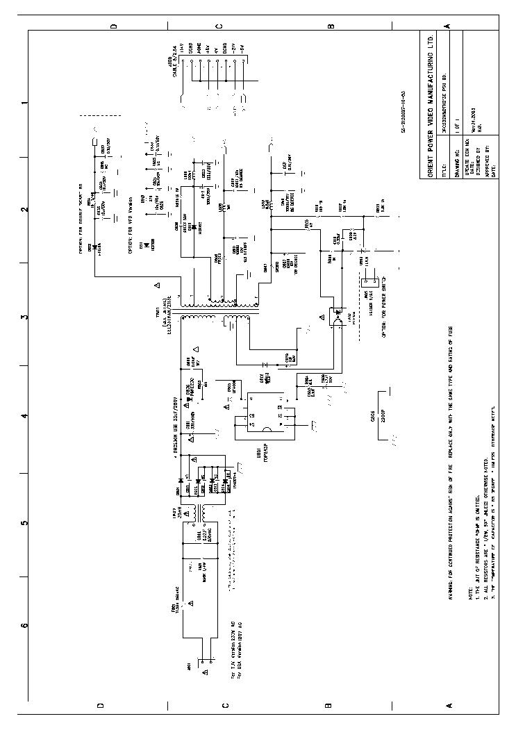 THOMSON DTH232 SCH Service Manual download, schematics