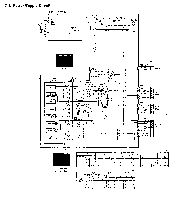 TOSHIBA V-109CZ SCH Service Manual download, schematics