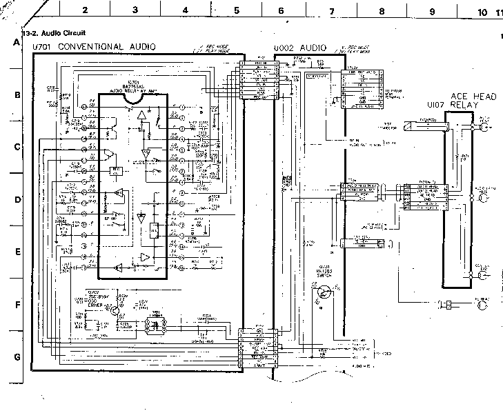 TOSHIBA V-109CZ SM Service Manual download, schematics