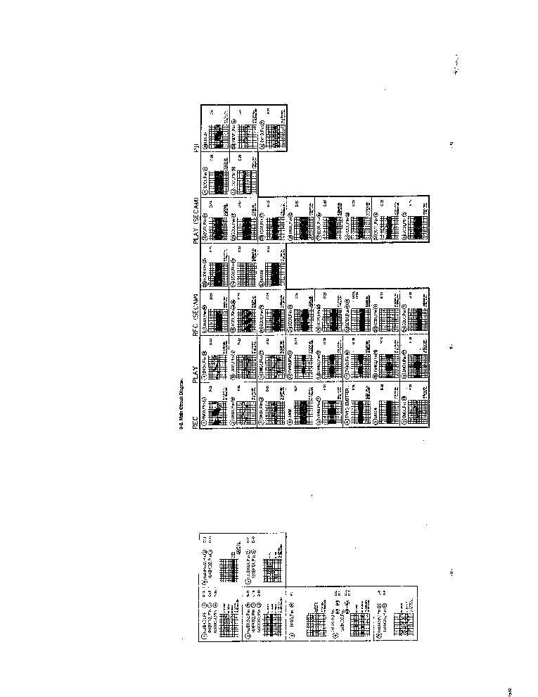 TOSHIBA V-473F VCR SCH Service Manual download, schematics