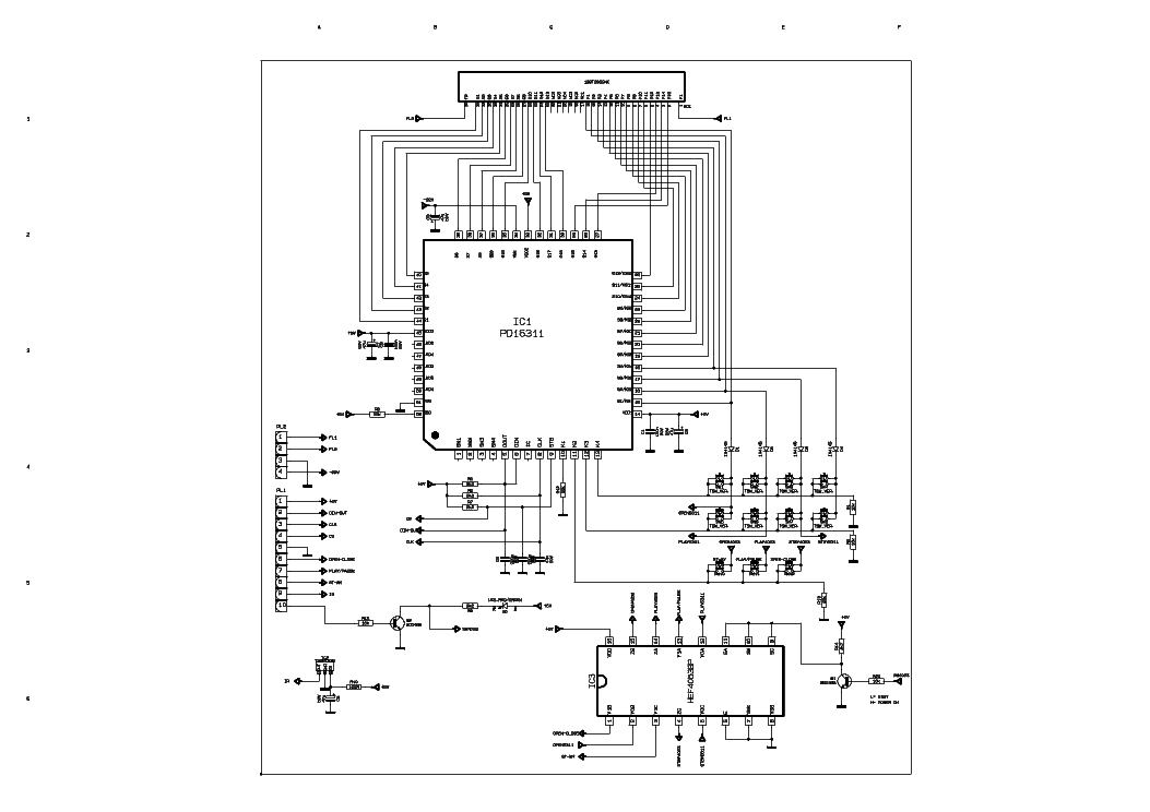VESTEL AV1000 Service Manual download, schematics, eeprom